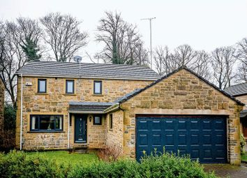 Thumbnail 4 bed detached house for sale in Cranmer Gardens, Meltham, Holmfirth