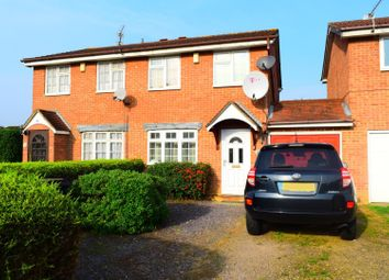 Thumbnail 2 bed semi-detached house for sale in Wilford Avenue, Little Billing, Northampton