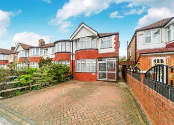 Thumbnail 3 bed end terrace house for sale in Woodhouse Avenue, Greenford