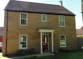 Thumbnail 4 bed detached house to rent in Alder Covert, Thetford