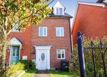 3 bed town house for sale in Coral Drive, Ipswich IP1