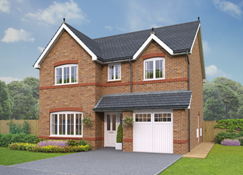 Thumbnail 4 bedroom detached house for sale in The Glyn, Plot 5/6, Holmes Chapel Road, Congleton, Cheshire
