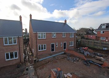 Thumbnail 4 bedroom semi-detached house for sale in Plot 2, The Firs, Cullompton