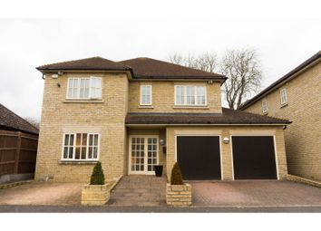 Thumbnail 5 bedroom detached house for sale in Linden Gardens, Peterborough