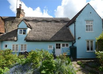 Thumbnail 3 bed semi-detached house for sale in Frogge Street, Ickleton, Saffron Walden, Essex