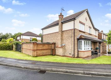 Thumbnail 4 bed detached house for sale in Fareham Close, Hartlepool