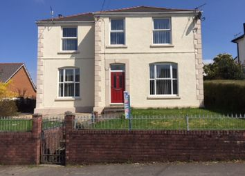 Thumbnail 4 bed detached house for sale in Station Road, Ystradgynlais, Swansea.