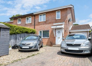 Thumbnail 3 bed semi-detached house for sale in Marryat Road, New Milton