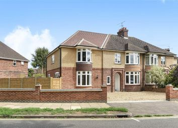 Thumbnail 4 bed semi-detached house for sale in Byron Crescent, Bedford