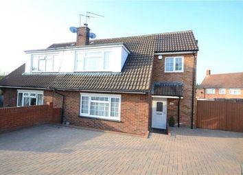 Thumbnail 4 bed semi-detached house for sale in Churchill Close, Farnborough, Hampshire