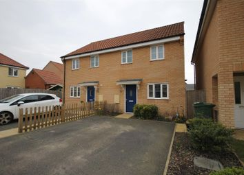 Thumbnail 3 bed property to rent in Pump House Close, Costessey, Norwich