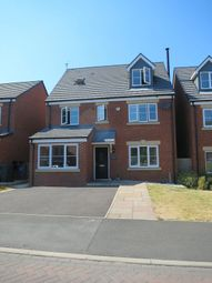 Thumbnail 5 bed detached house to rent in Ainscough Drive, Burscough, Ormskirk