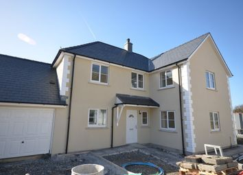Thumbnail 4 bed detached house for sale in Clos Crugiau, Southgate, Aberystwyth