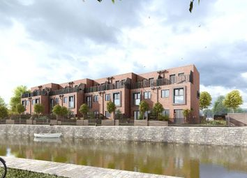 Thumbnail 3 bed town house for sale in Waterside Gardens, Wallgate, Wigan