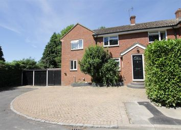 Thumbnail 3 bed semi-detached house for sale in Wakemans, Upper Basildon, Reading