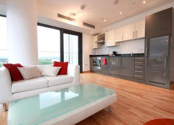 Thumbnail 1 bedroom flat to rent in Stratford Riverside, Stratford High St, London