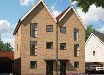 "Thumbnail 3 bed town house for sale in ""The Rose"" at Whiting Crescent, Faversham"
