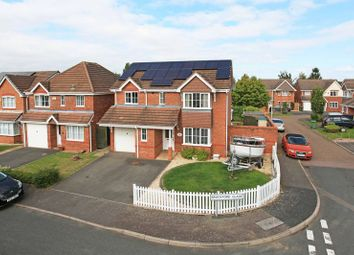 Thumbnail 4 bed detached house for sale in Brockford Glade, Admaston, Telford
