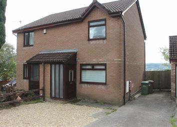Thumbnail 2 bed semi-detached house to rent in Cae Gethin, Caerphilly