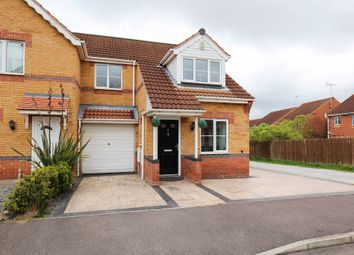 Thumbnail 3 bed semi-detached house for sale in Cherry Tree Drive, Creswell, Worksop