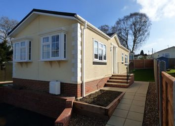 Thumbnail 2 bed mobile/park home for sale in Brockham Hill Park, Boxhill Road, Tadworth