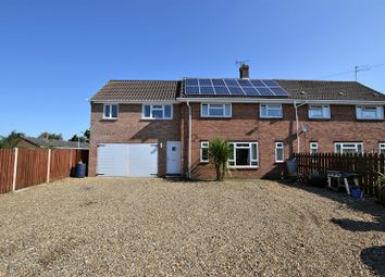 Thumbnail 4 bed semi-detached house for sale in Watton Road, Hingham, Norwich, Norfolk.