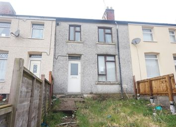Thumbnail 3 bed terraced house for sale in Meadow Terrace, Phillipstown, New Tredegar, Caerphilly