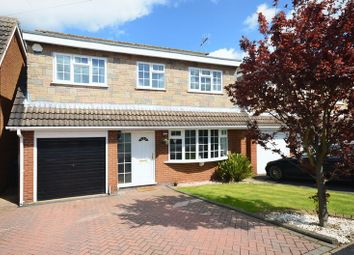 Thumbnail 4 bed detached house for sale in Churchfield Road, Eccleshall, Staffordshire