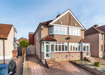 Thumbnail 3 bed semi-detached house for sale in Fairford Avenue, Bexleyheath, Kent