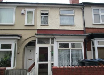 Thumbnail 3 bed terraced house for sale in Dora Road, Handsworth, Birmingham