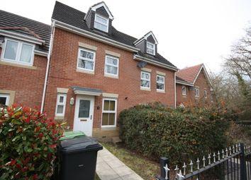 Thumbnail 3 bed town house to rent in Rowan Close, Whiteley, Fareham