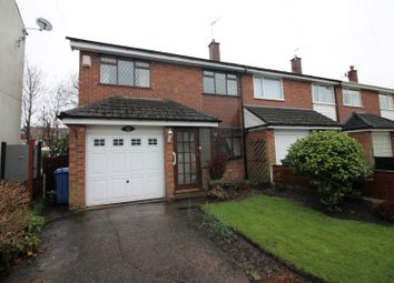 Thumbnail 3 bed semi-detached house for sale in Cross Street, Urmston, Manchester