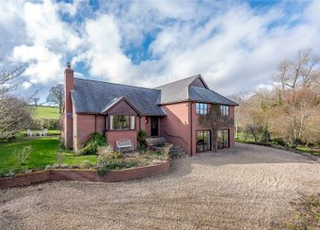 Thumbnail 4 bedroom detached house for sale in Bushmoor, Craven Arms, Shropshire