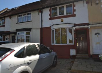 Thumbnail 3 bed terraced house to rent in Hook Road, Epsom