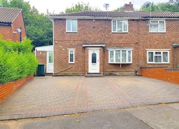 Thumbnail 3 bed semi-detached house for sale in Denbigh Drive, West Bromwich, West Midlands
