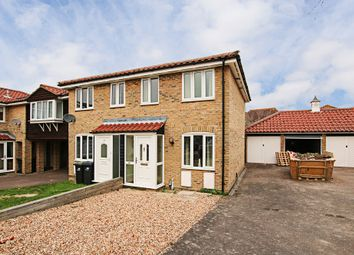 Thumbnail 2 bed semi-detached house for sale in Bayfield Drive, Burwell