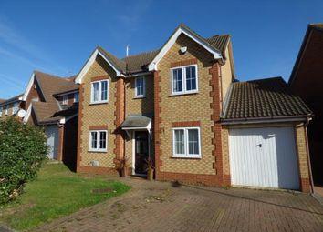 Thumbnail 4 bed detached house for sale in Lancaster Way, Buckingham Fields, Northampton, Northamptonshire