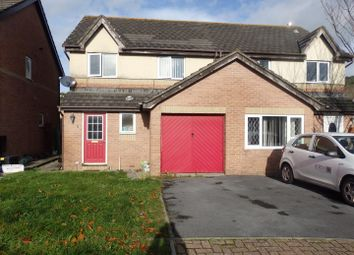 Thumbnail 3 bed semi-detached house for sale in Clos Hermon, Pembrey, Burry Port