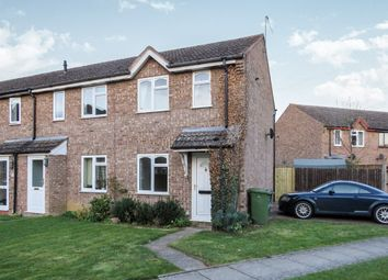 Thumbnail 2 bed end terrace house for sale in Poplar Close, Evesham