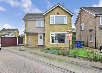 Thumbnail 3 bed detached house for sale in Sunnyfields Drive, Halfway, Sheerness, Kent