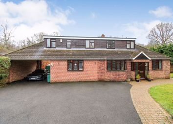 Thumbnail 6 bed detached house for sale in Broadlayings, Woolton Hill, Newbury