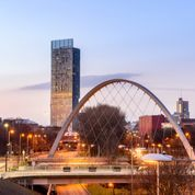 Thumbnail 1 bed flat for sale in Buy To Let Apartments, Queen Street, Manchester, Manchester