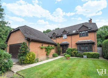 Thumbnail 4 bedroom detached house for sale in Leatherhead Road, Oxshott, Leatherhead