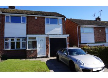 Thumbnail 4 bed semi-detached house for sale in Outfields Drive, Cropston
