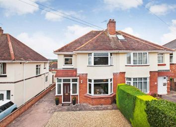 Thumbnail 3 bed semi-detached house for sale in Lovelace Crescent, Exmouth