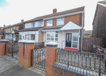 Thumbnail 2 bed semi-detached house for sale in Bexhill Road, Sunderland