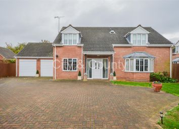 Thumbnail 4 bed property for sale in Bittern Close, Cowbit, Spalding