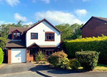 Thumbnail 4 bed detached house for sale in Fox Hollow, Loggerheads, Market Drayton