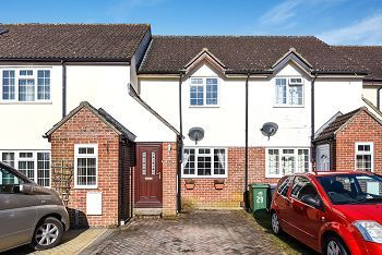 Thumbnail 2 bed terraced house for sale in Chalfield Close, Warminster, Wiltshire