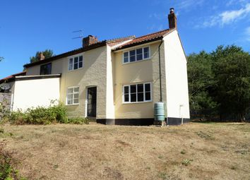 Thumbnail 3 bed semi-detached house to rent in Aldeby, Beccles